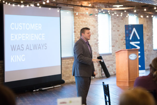 Speaker, Evan Carroll at American Marketing Association of West Michigan