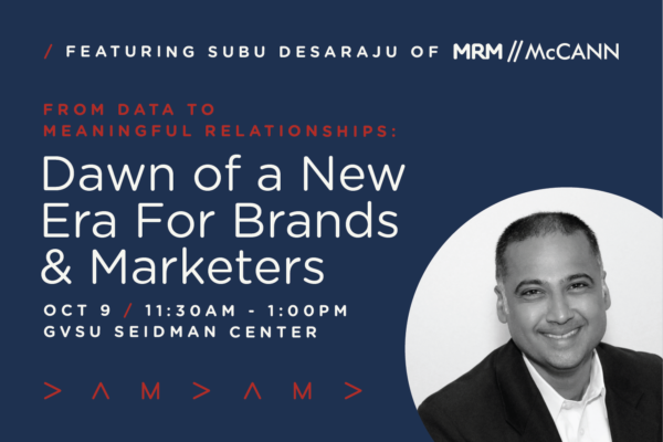Data Driven Marketing Luncheon with Subu Desaraju