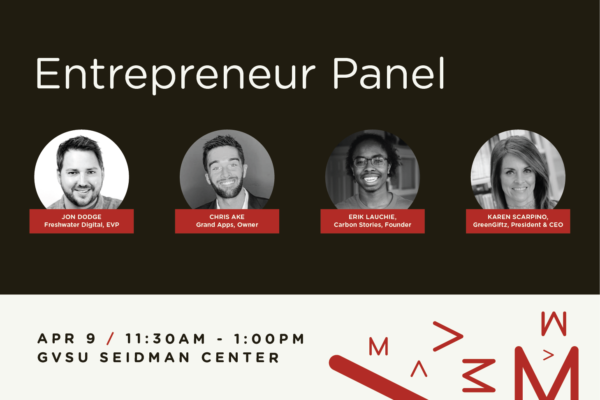 Grand Rapids Entrepreneur Panel