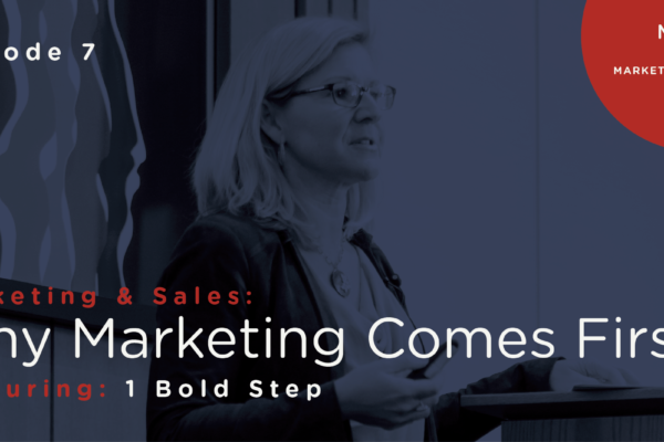 Marketing & Sales: Why Marketing Comes First