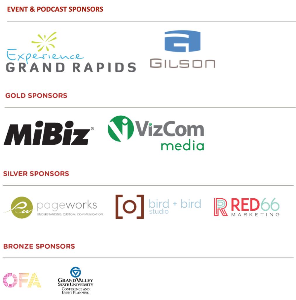 Podcast Sponsor Logos