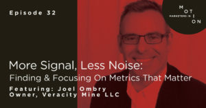 Joel Ombry: More Signal, Less Noise